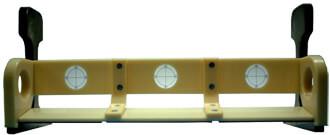 レール穿孔穴検査測定器